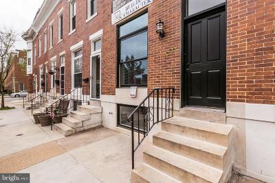 Baltimore City Townhouse For Sale: 1738 Webster Street