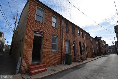 Baltimore City Townhouse For Sale: 407 Duncan Street S