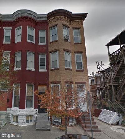 Baltimore Townhouse For Sale: 2201 Barclay Street
