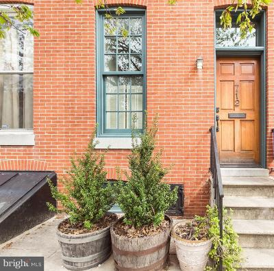 Baltimore City Townhouse For Sale: 712 Portland Street