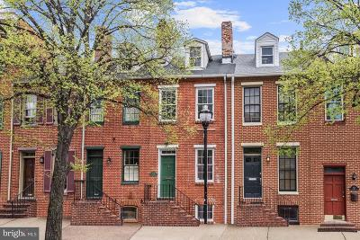 Federal Hill Townhouse For Sale: 825 S Charles Street