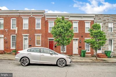 Baltimore City Townhouse For Sale: 47 E Heath Street E