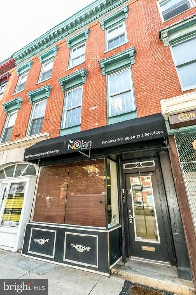 Baltimore Townhouse For Sale: 819 E Baltimore Street