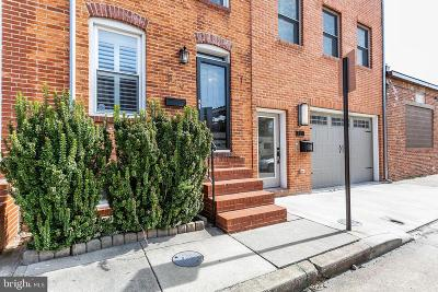 Baltimore City Townhouse For Sale: 819 S Belnord Avenue