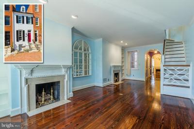 Federal Hill Townhouse For Sale: 110 E Montgomery Street