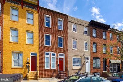 Butchers Hill Townhouse For Sale: 17 N Washington Street N