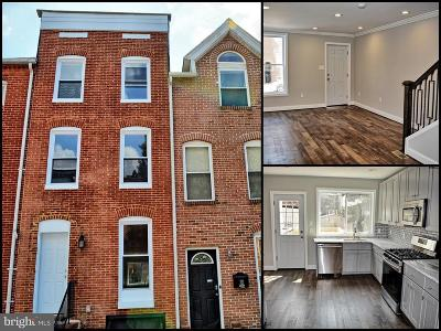 Upper Fells Point Townhouse For Sale: 1815 E. Lombard Street