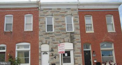 Baltimore Townhouse For Auction: 34 N Luzerne Avenue