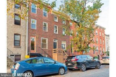 Baltimore MD Townhouse For Sale: $420,000