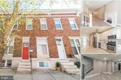 Baltimore City Townhouse For Sale: 2321 Guilford Avenue