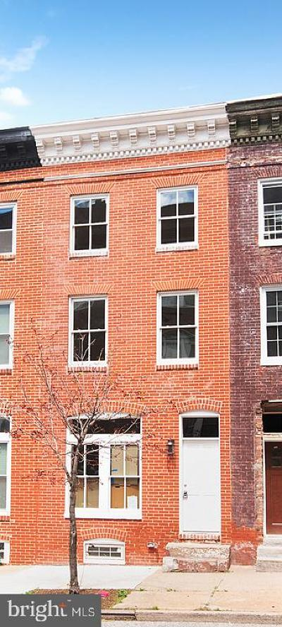 Townhouse For Auction: 2036 E Fayette Street