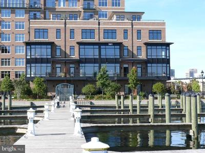 Fells Point Condo For Sale: 961 Fell Street