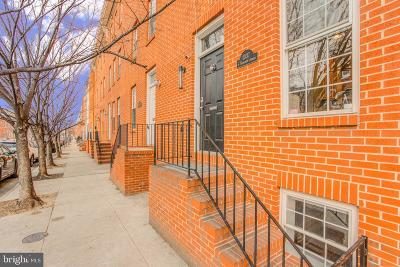 Baltimore City Townhouse For Sale: 1337 S Hanover Street