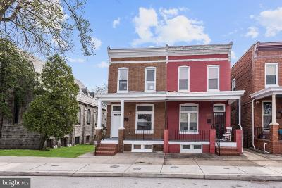 Baltimore City Townhouse For Sale: 3515 Harford Road