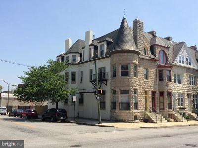Baltimore Multi Family Home For Sale: 2339 N Calvert Street