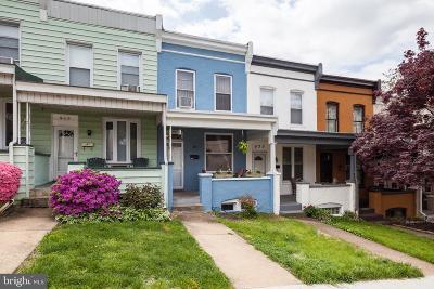 Hampden Townhouse For Sale: 921 W 33rd Street