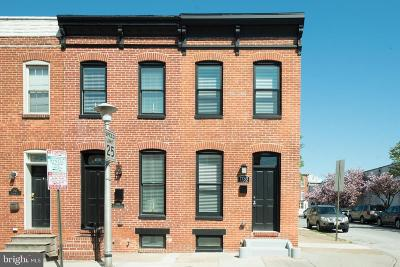 Canton, Federal Hill, Federal Hill Area, Federal Hill;, Federall Hill, Fell Point, Fells Point, Fells Point Upper, Inner Harbor Single Family Home For Sale: 1753 Clarkson Street