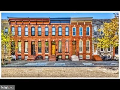 Canton, Canton Company, Canton Cove, Canton East, Canton, Patterson Park, Canton/Brewers Hill, Canton/Lighthouse Landing Townhouse For Sale: 3009 Elliott Street