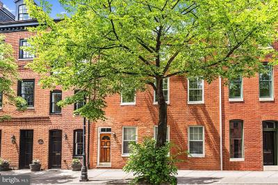 Fells Point Condo For Sale: 824 S Bond Street #A