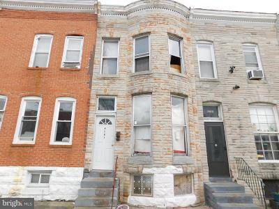 Mondawmin Townhouse For Sale: 2121 Walbrook Avenue