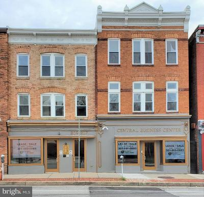 Commercial For Sale: 807 E Baltimore Street
