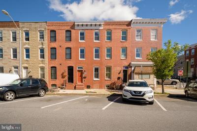 Baltimore City Townhouse For Sale: 2040 Gough Street
