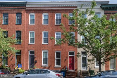 Baltimore Townhouse For Sale: 708 Portland Street