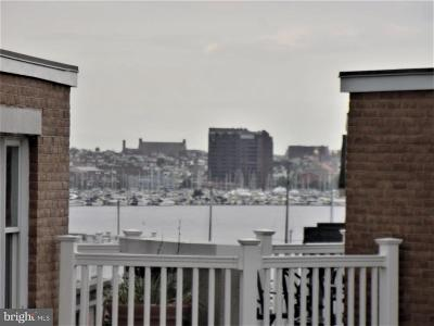 Baltimore Townhouse For Sale: 1242 Harbor Island Walk