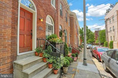 Federal Hill Townhouse For Sale: 311 E Hamburg Street