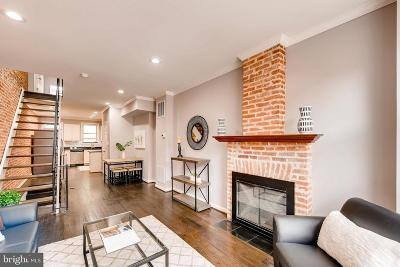 Federal Hill Townhouse For Sale: 1737 Patapsco Street
