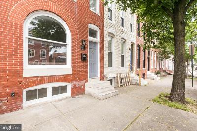 Federal Hill Townhouse For Sale: 1027 S Hanover Street
