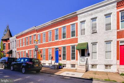 South Baltimore Townhouse For Sale: 1436 Marshall Street
