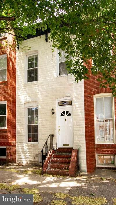 Federal Hill Townhouse For Sale: 1610 S Charles Street