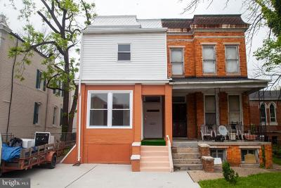 Central Park Heights Single Family Home For Sale: 4915 Park Heights Avenue
