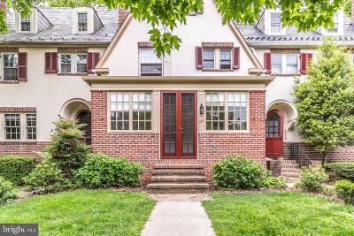 Roland Park Townhouse For Sale: 4210 Wickford Road