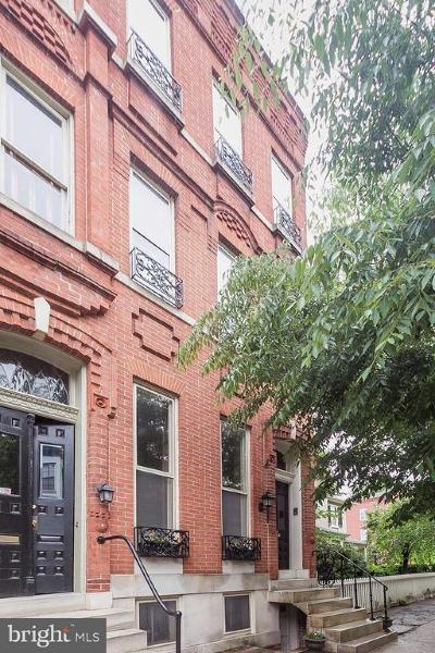 Baltimore Townhouse For Sale: 238 W Lanvale Street