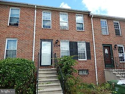 Baltimore Townhouse For Auction: 1106 Laurens Street