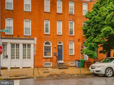 Federal Hill Townhouse For Sale: 1746 S Charles Street