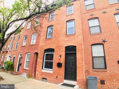 Federal Hill Townhouse For Sale: 1106 Battery Avenue