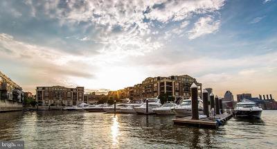 Baltimore City Rental For Rent: 801 Key Highway #233