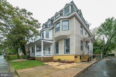 Baltimore Single Family Home For Sale: 509 Chestnut Hill Avenue