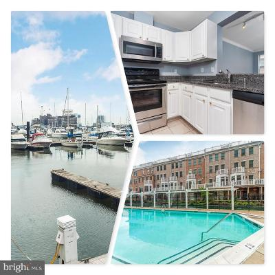 Baltimore City Condo For Sale: 23 Pierside Drive #204