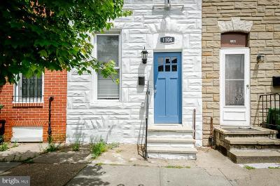Baltimore Townhouse For Sale: 1104 W Lombard Street