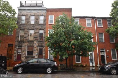 Baltimore Townhouse For Sale: 1264 Riverside Avenue