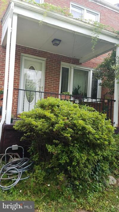 Baltimore Single Family Home For Sale: 3503 Kenyon Avenue