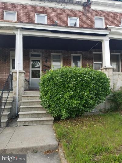 Baltimore Townhouse For Sale: 2580 Edmondson Avenue