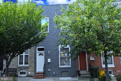 Baltimore Townhouse For Sale: 222 N Collington Avenue