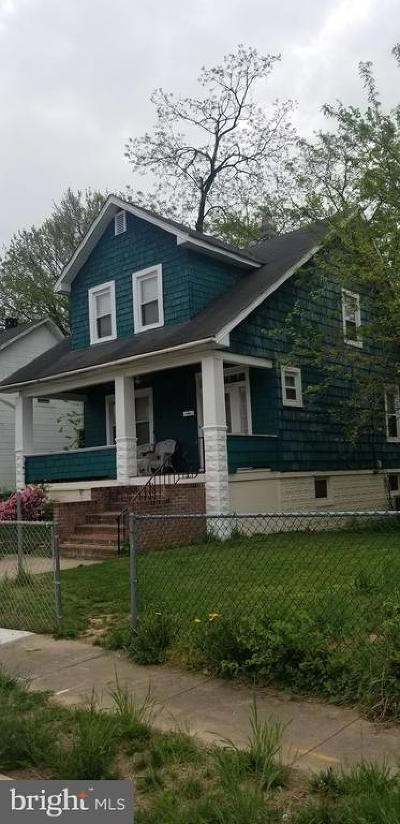 Baltimore Single Family Home For Sale: 2911 Thorndale Avenue