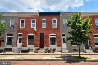 Baltimore Townhouse For Sale: 151 N Kenwood Avenue