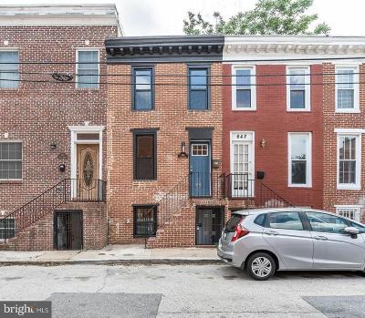 Baltimore Townhouse For Sale: 644 Wyeth Street